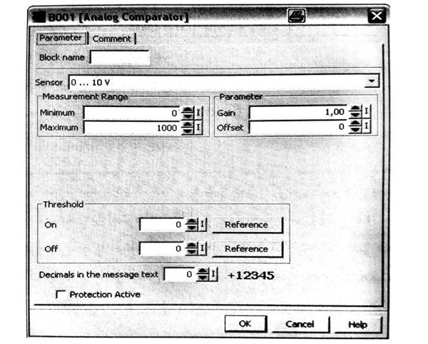نمایندگی زیمنس: معرفی بلوک های ANALOG TRESHOLD SWITCH و ANALOG COMPARATOR و کاربرد آنها