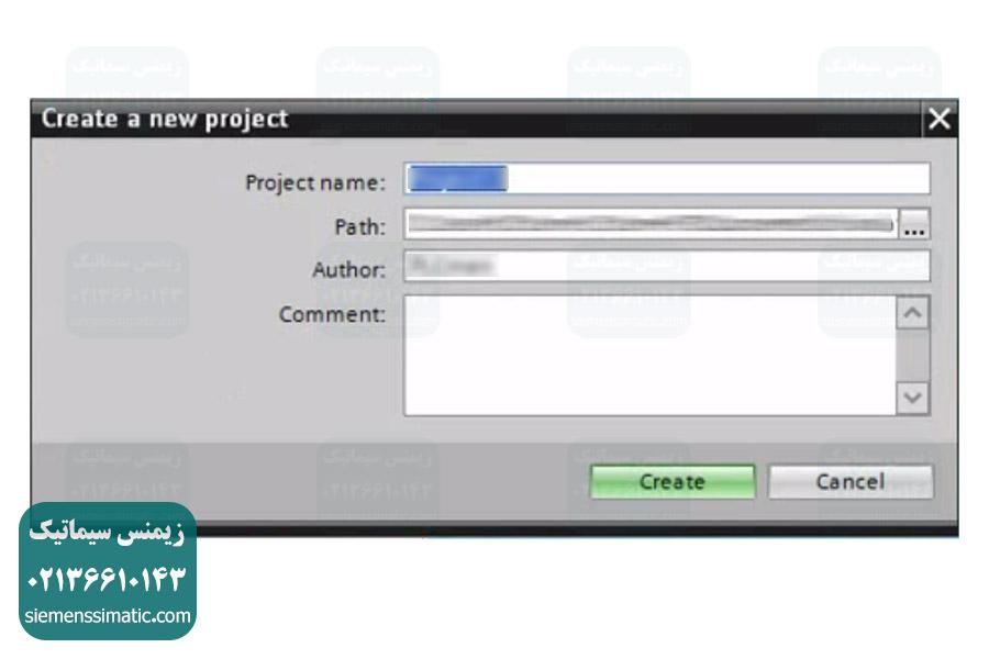 شبیه سازی PLC S7-1200 در نرم افزار PLCSIM - ساخت پروژه