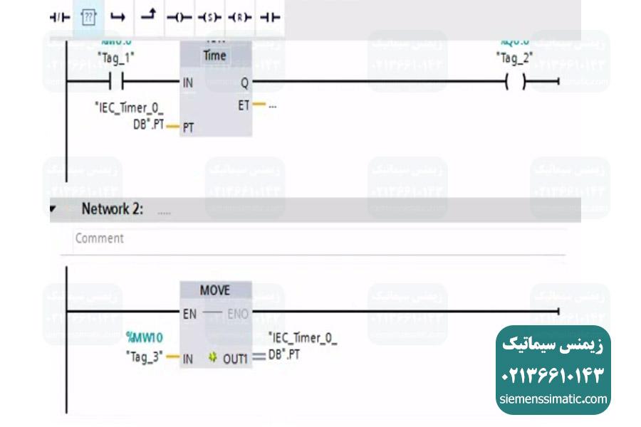برنامه نویسی پی ال سی S7-1200 برای استفاده یک Trend View در HMI زیمنس