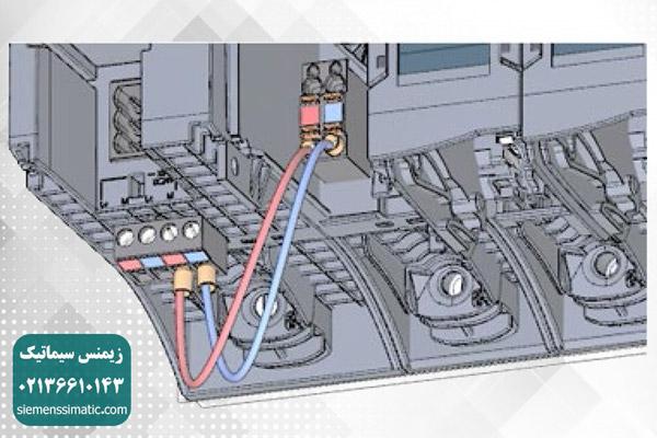 اتصال خروجی 24V DC از ماژول PM به CPU - 2